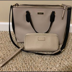 Kate Spade Hand Tote and Wallet